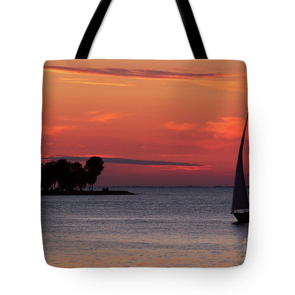 Sailing Home Tote Bag by Joel Witmeyer