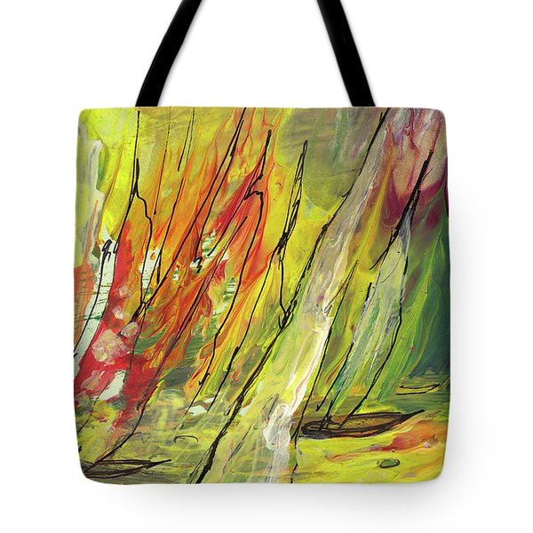 Sailing Impression 04 Tote Bag by Miki De Goodaboom