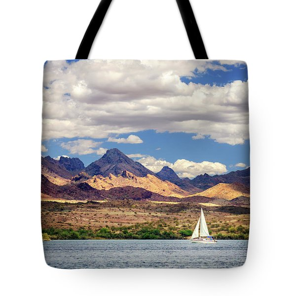 Sailing In Havasu Tote Bag