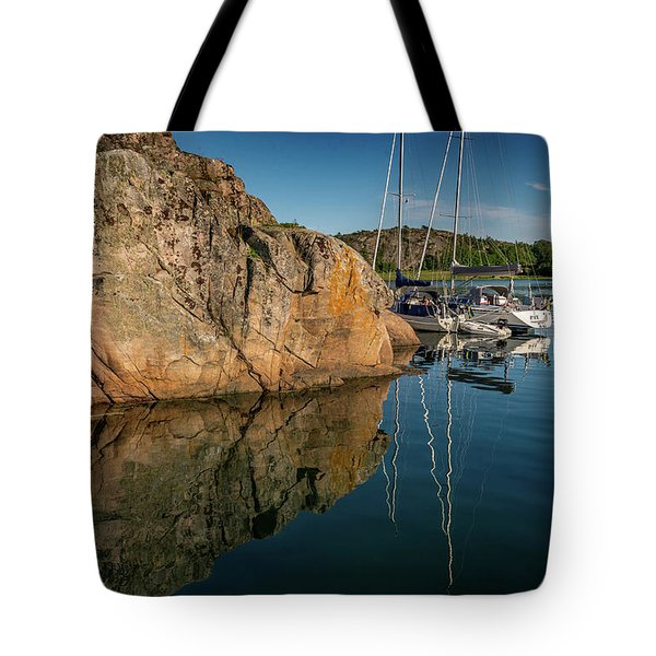Sailing In Sweden Tote Bag