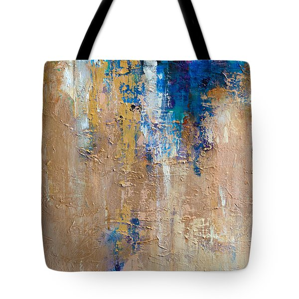 Tote Bag featuring the painting Sailing In The Bay by Linda Olsen