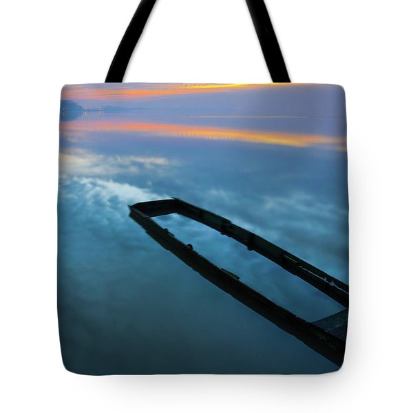Sailing In The Sky Tote Bag