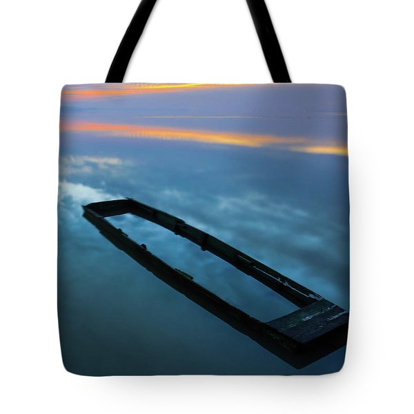 Tote Bag featuring the photograph Sailing In The Sky by Davor Zerjav