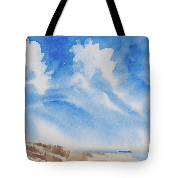 Fine Coastal Cruising Tote Bag