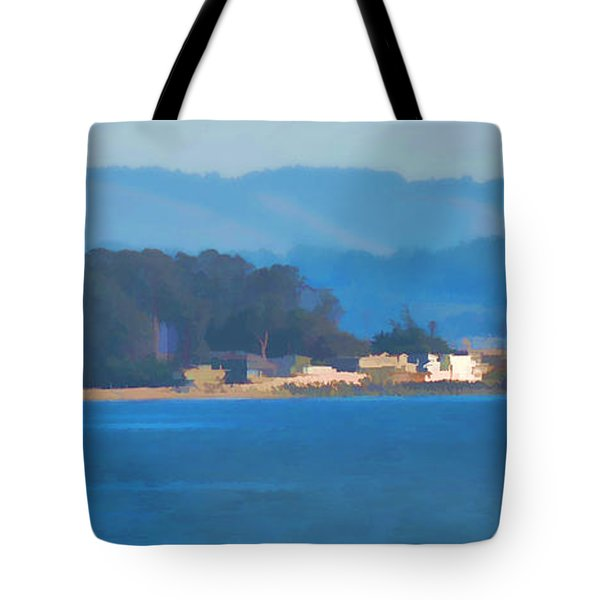 Sailing On The Monterey Bay Tote Bag