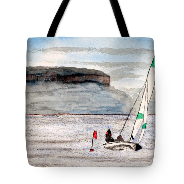 Sailing On Thunder Bay Tote Bag