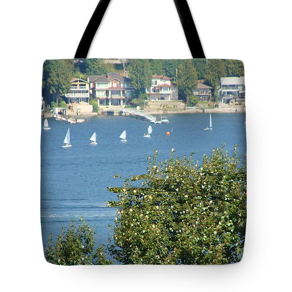 Sailing Tote Bag by Rod Jellison