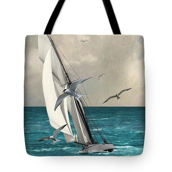 Sailing Southern Seas Tote Bag