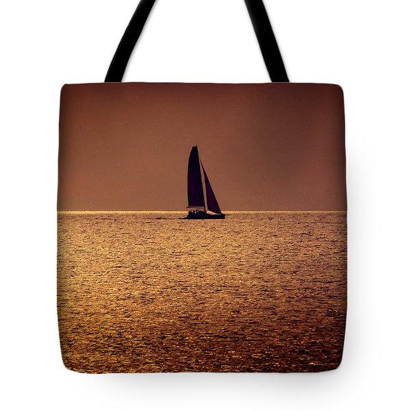 Sailing Tote Bag by Steven Sparks