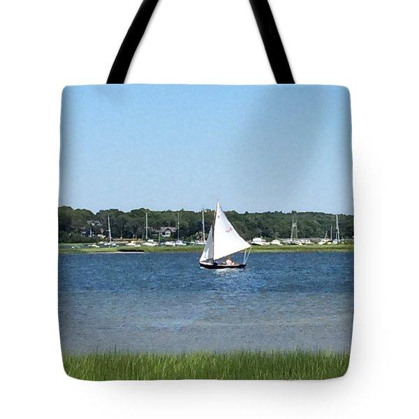 Sailing The Cape Tote Bag