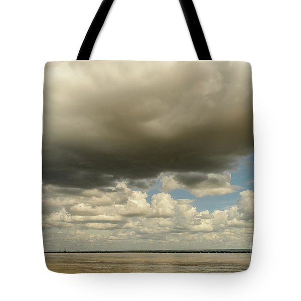 Sailing The Irrawaddy Tote Bag