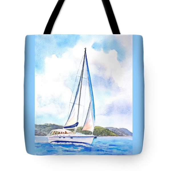 Sailing The Islands 2 Tote Bag