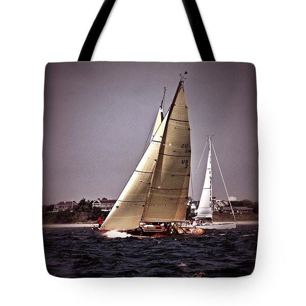 Sailing To Nantucket 005 Tote Bag