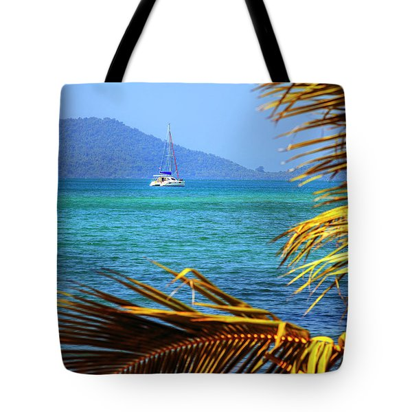Tote Bag featuring the photograph Sailing Vacation by Alexey Stiop