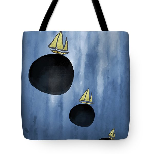 Sailing Your Dreams Tote Bag by Kandy Hurley