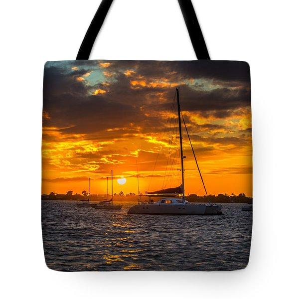 Sailor Sunset Tote Bag