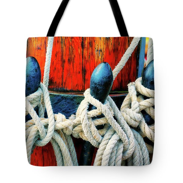 Sailor's Ropes Tote Bag