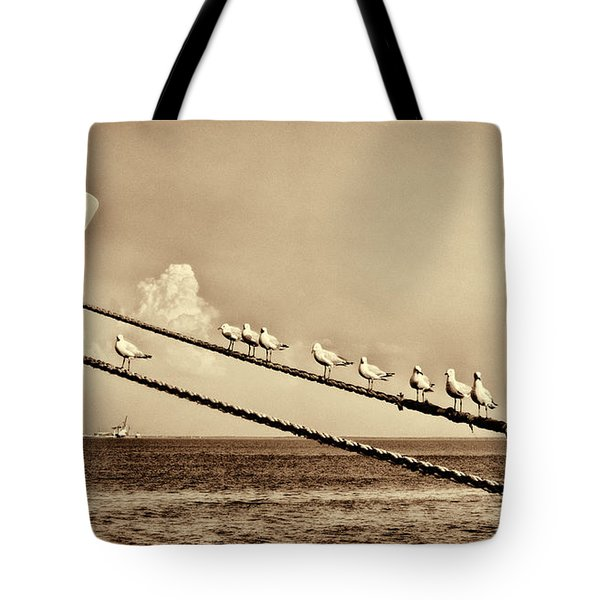 Sailors V2 Tote Bag by Douglas Barnard