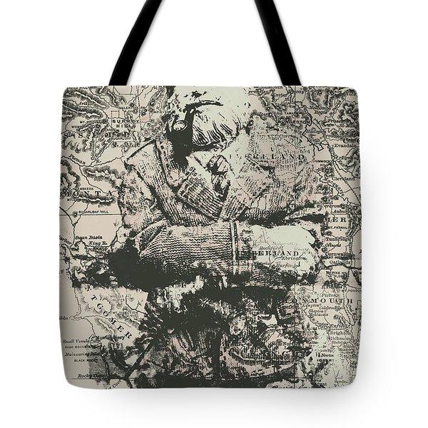 Sailors Vintage Adventure Tote Bag