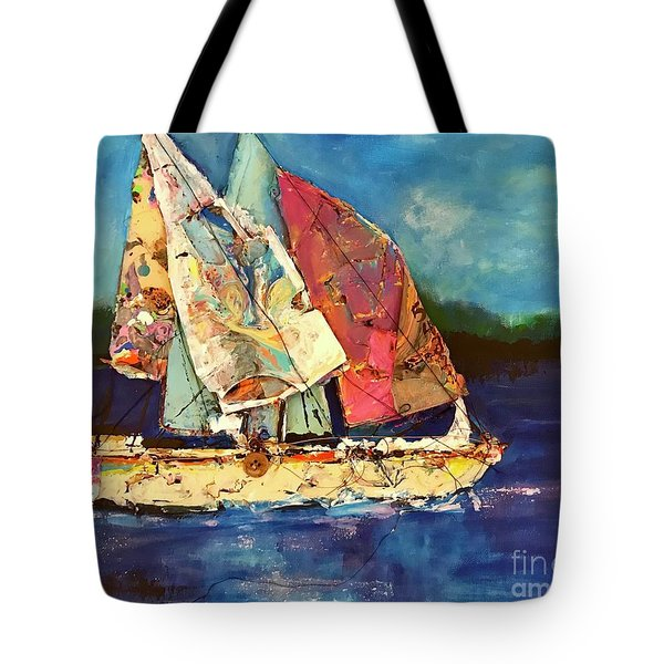 Sails Away Tote Bag