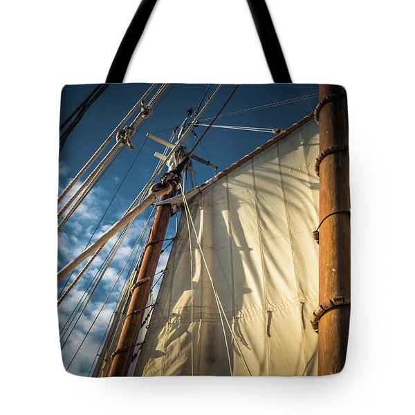 Sails In The Breeze Tote Bag
