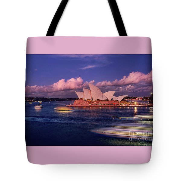 Tote Bag featuring the photograph Sails In The Clouds By Kaye Menner by Kaye Menner