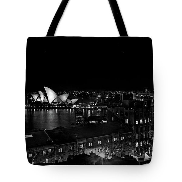 Sails In The Night Tote Bag