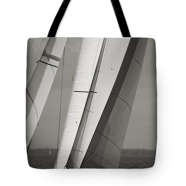 Sails Of A Sailboat Sailing Tote Bag