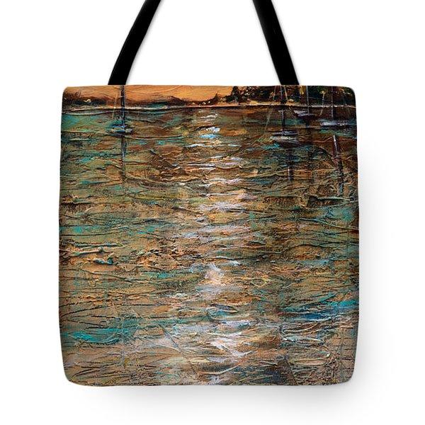 Sails Stowed Tote Bag
