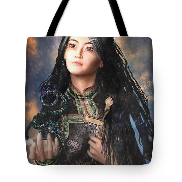 Saint Agnes Of Vietnam 7 Tote Bag by Suzanne Silvir