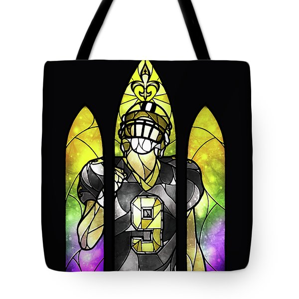 Saint Brees Tote Bag