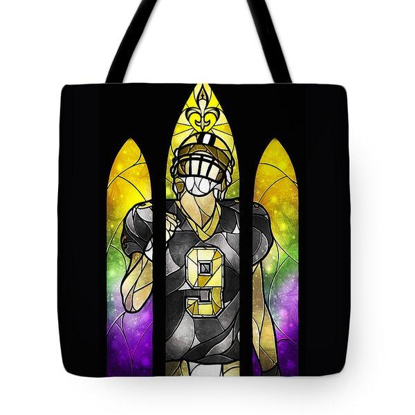 Saint Brees Tote Bag by Mandie Manzano