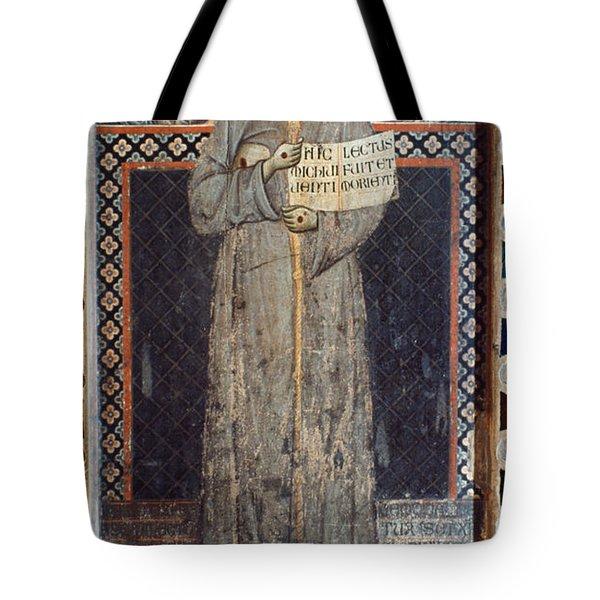 Saint Francis Of Assisi Tote Bag by Granger