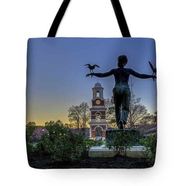 Saint Francis On Campus Tote Bag