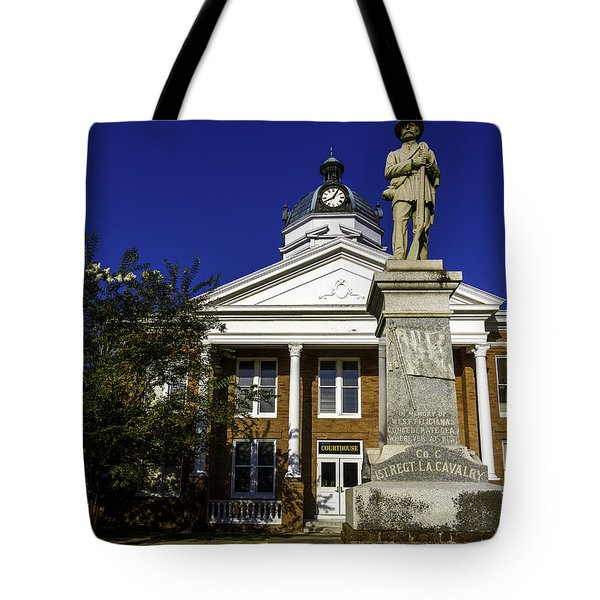 Saint Francisvile Courthouse Tote Bag