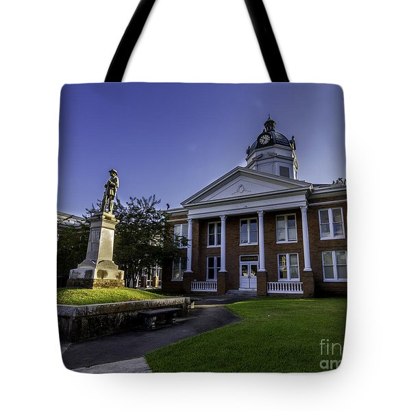 Saint Francisville Court House Tote Bag