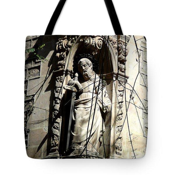Saint Gardinan Tote Bag