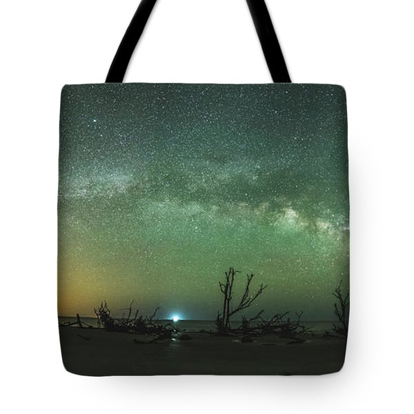 Saint Helena Island Milky Way Tote Bag by Robert Loe