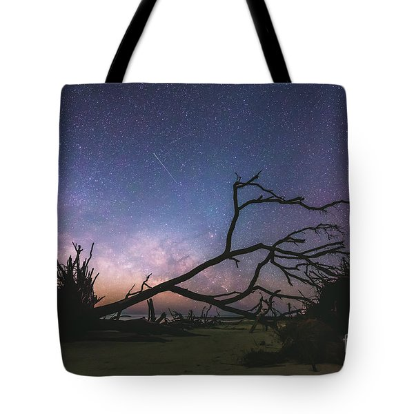 Saint Helena Milky Tote Bag by Robert Loe