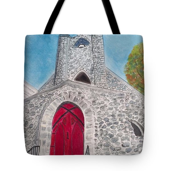 Saint James Episcopal Church Tote Bag