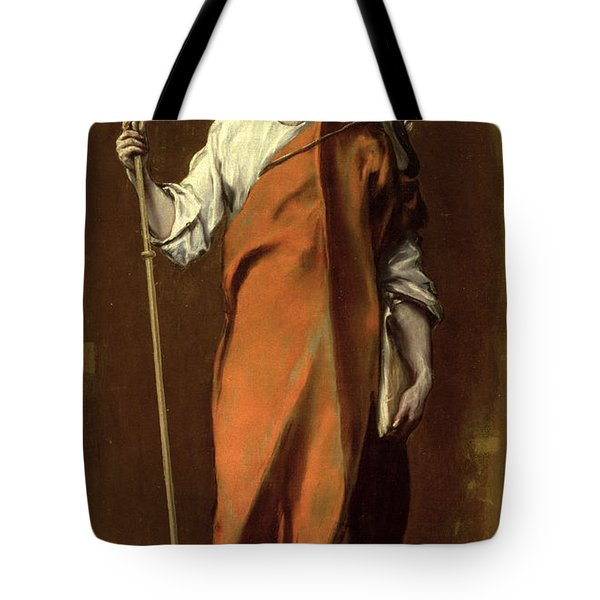 Saint James The Greater Tote Bag by El Greco