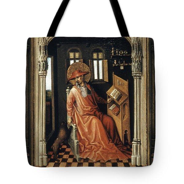 Saint Jerome (340-420) Tote Bag by Granger