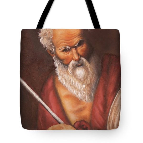 Saint Jerome Tote Bag