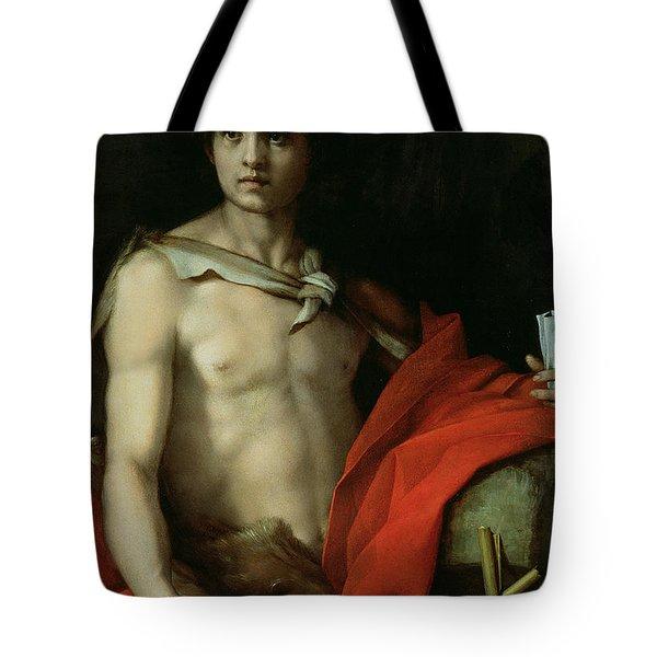 Saint John The Baptist  Tote Bag by Andrea del Sarto