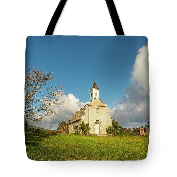 Tote Bag featuring the photograph Saint Joseph's Church by Ryan Manuel