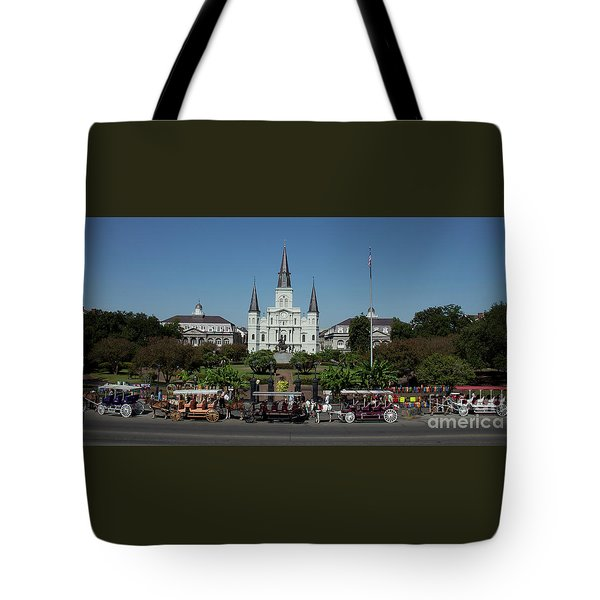 Saint Lewis Cathedral French Quarter New Orleans, La Tote Bag