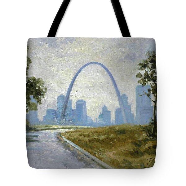 Saint Louis  Panorama Tote Bag