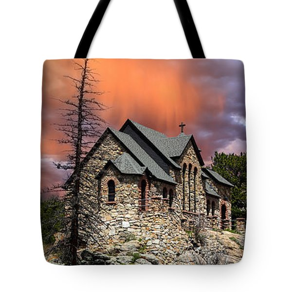 Tote Bag featuring the photograph Saint Malo Panorama by Shane Bechler