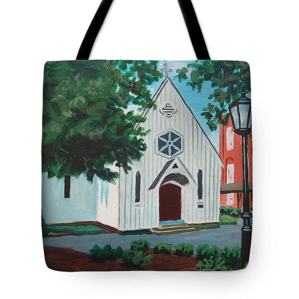 Saint Mary's Chapel Tote Bag