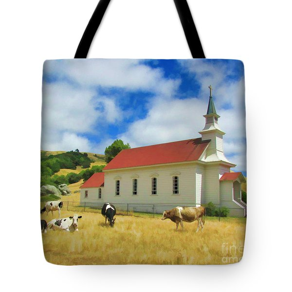 St. Mary's Visitors Tote Bag